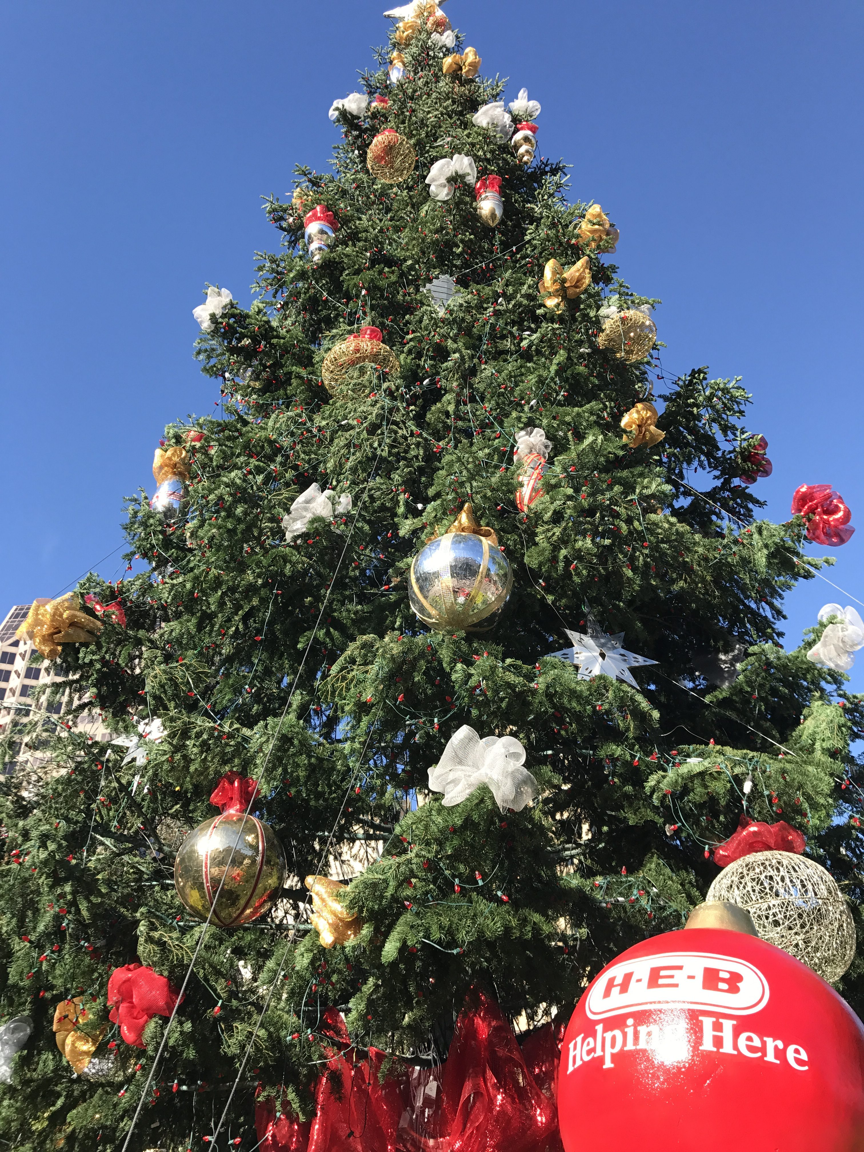 Heb Hours Christmas Eve.The 34th Annual H E B Tree Lighting Celebration In San