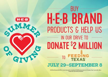 H-E-B continues giving initiatives to benefit Texas food banks - H-E-B Newsroom