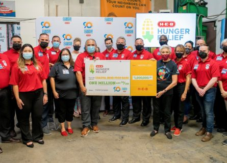 H-E-B donates $1 million and two truckloads of food to support Coastal Bend Food Bank in Corpus Christi - H-E-B Newsroom