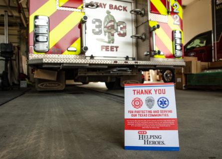 H-E-B honors first responders across Texas through Helping Heroes initiative - H-E-B Newsroom